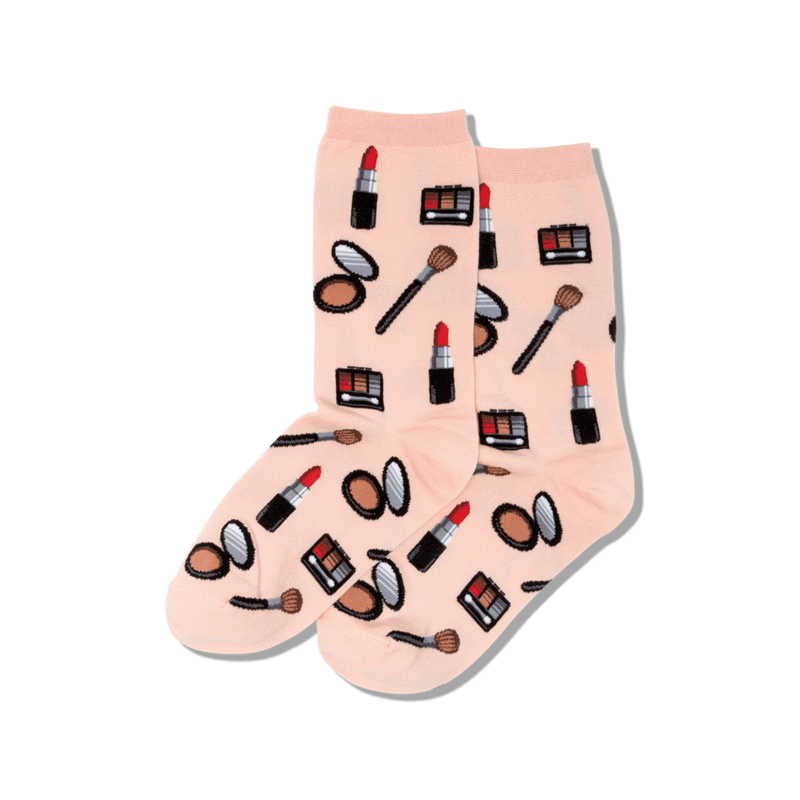 Women's Makeup Crew Socks