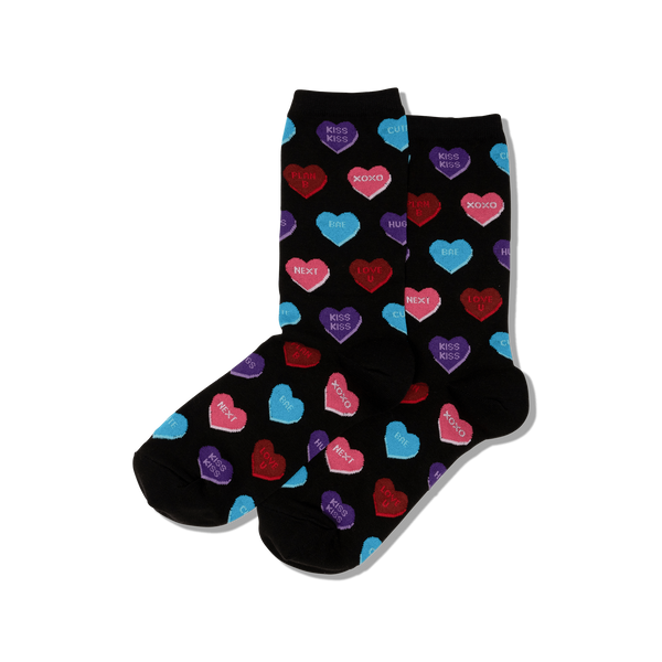 Heart Candy Women's Crew Socks