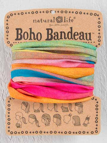 Hot Pink Rainbow Boho Bandeau