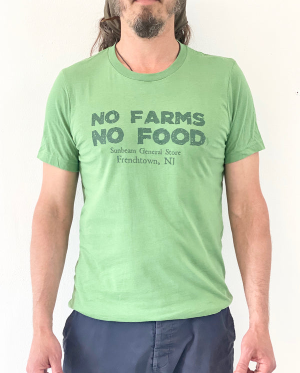 Sunbeam General Store No Farms No Food T-Shirt