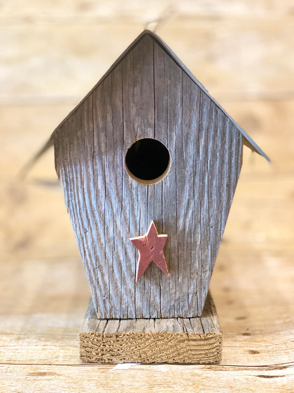 Sunbeam General Store Pennsylvania Made Rustic Birdhouse Small