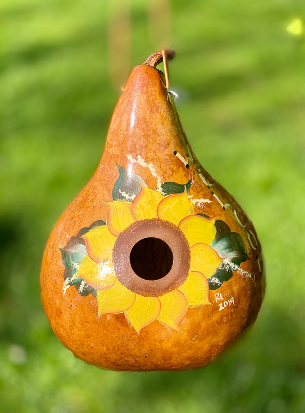 KS Gourd Birdhouse Flower (Made In Pennsylvania)