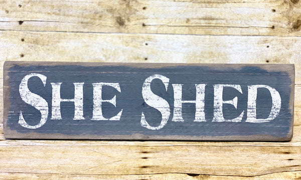 Keystone She Shed Sign (Made In Pennsylvania)