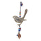 The Lonesome Bird Iron Beads & Bell