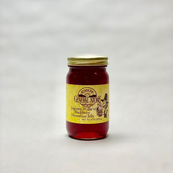 Sunbeam General Jugtown Willie's Moonshine Blackberry Jelly