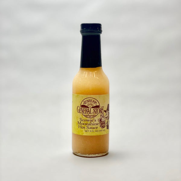 Sunbeam General Scowie's Moonshine Hot Sauce