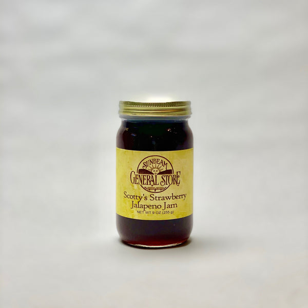 Sunbeam General Scotty Strawberry Jalapeno Jam