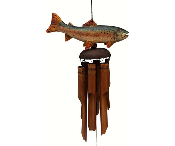 Trout Bamboo Windchime