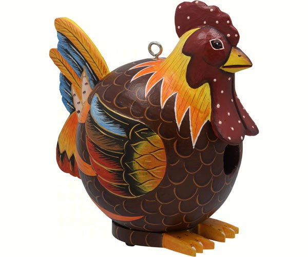 "Rooster ""Gord-O"" Birdhouse"