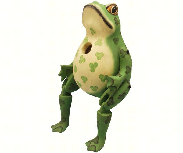 Hinged Frog Birdhouse