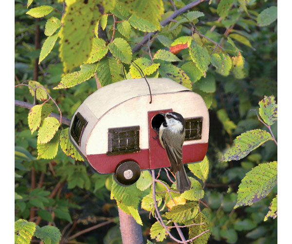 Mother-in-Law Suite Camper Birdhouse