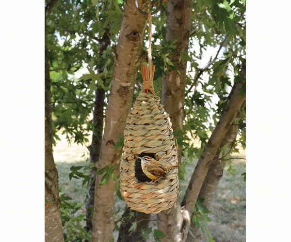 Songbird Grass Teardrop Birdhouse