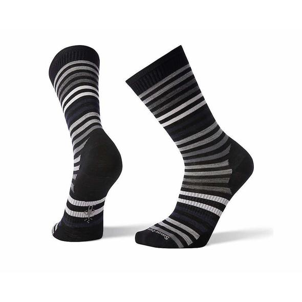 Men's Black Spruce Street Crew Socks