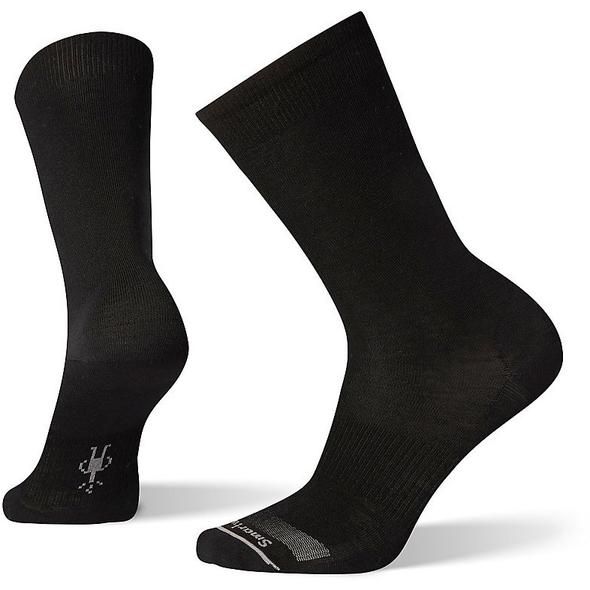 Men's Black Anchor Line Crew Socks