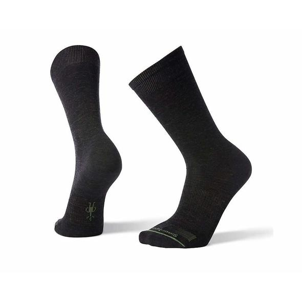Men's Charcoal Anchor Line Crew Socks