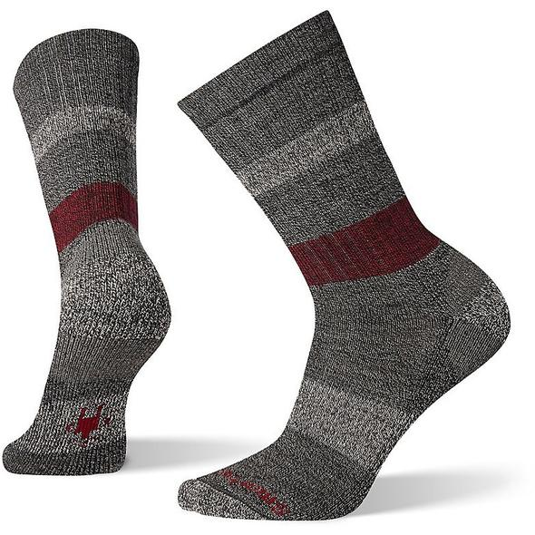 Men's Medium Gray Barnsley Crew Socks