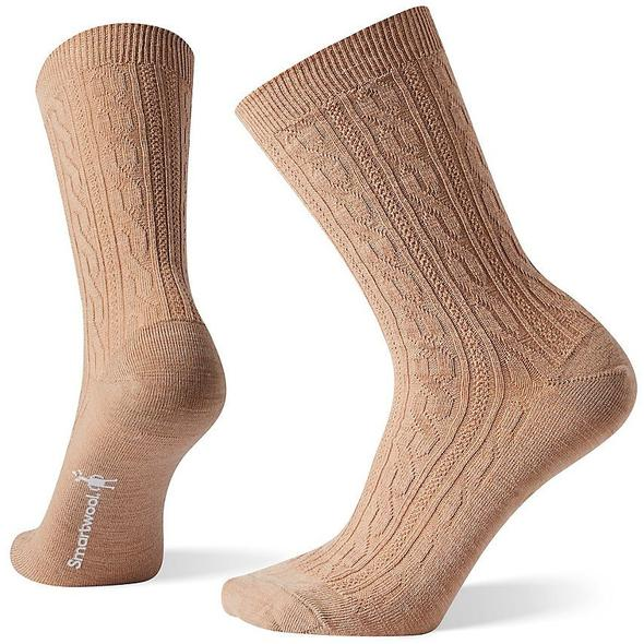 Women's Camel Cable II Socks