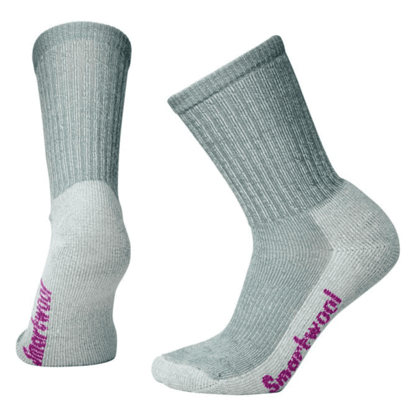 Women's Light Gray light Hiking Crew Socks