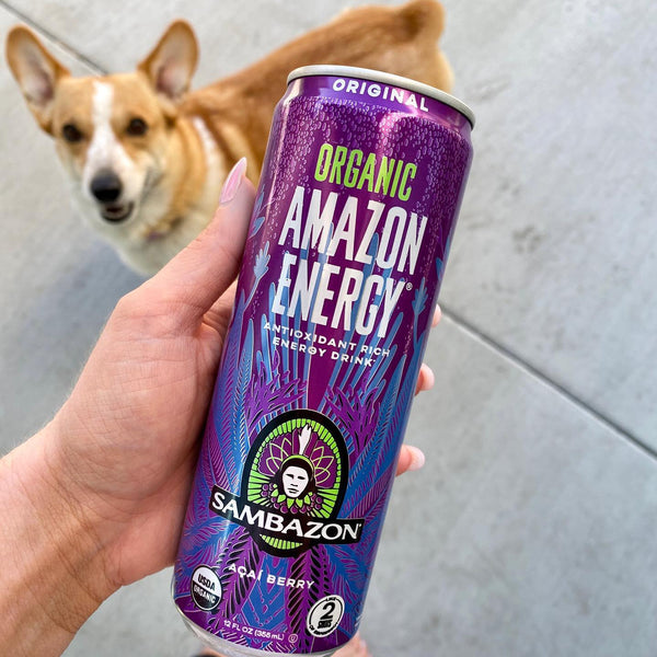 Sambazon Organic Açaí Amazon Energy Drink