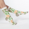 "Febb's Womens ""Girls With Dreams"" Socks"