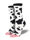 MEN'S MOOOO! - WHITE SOCKS
