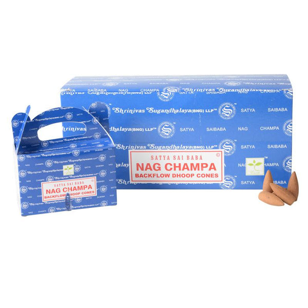 Nag Champa  Backlflow Incense Cones