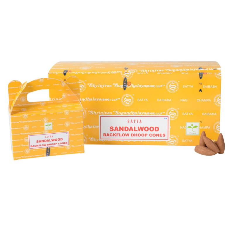 Sandalwood Backlflow Incense Cones