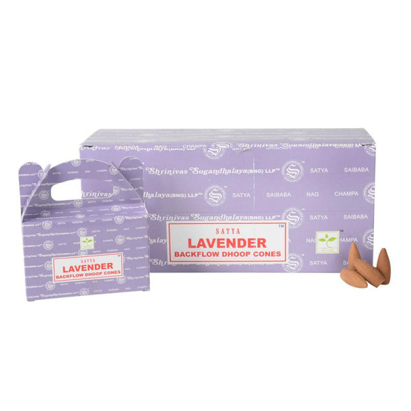 Lavender Backlflow Incense Cones