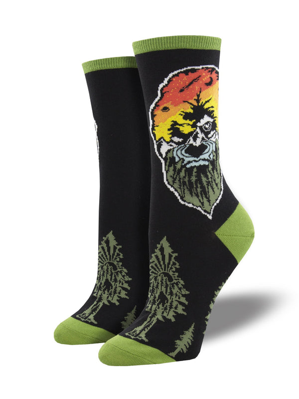 Women's Force of Nature Black  Socks