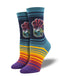 Women's Hop Wild Navy Socks