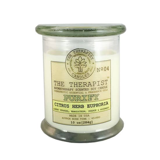 Purify Citrus Herb Euphoria Candle (Locally Made)
