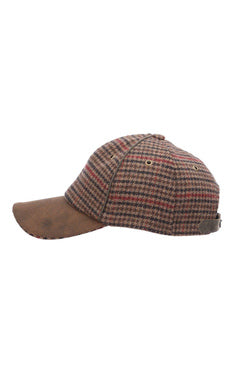 Salvage Woll Baseball Cap Winter - Brown