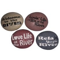 River Pebble Stones Assorted