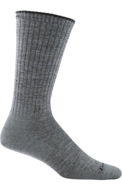 Men's Grey Standard Mid-Calf Lightweight