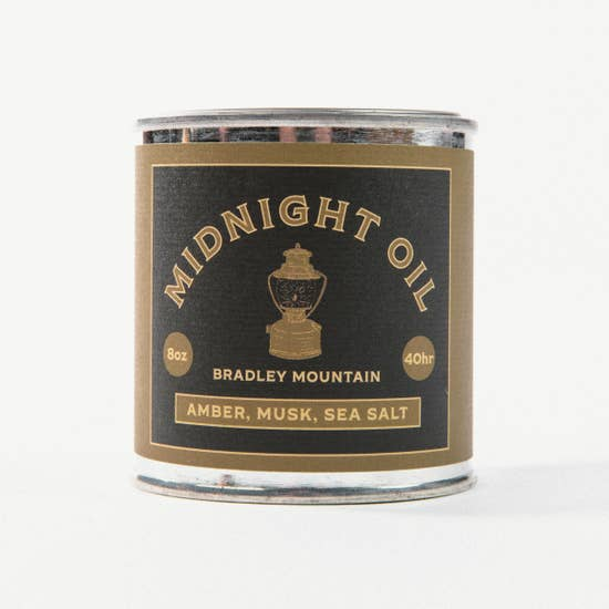 Midnight Oil Travel Candle