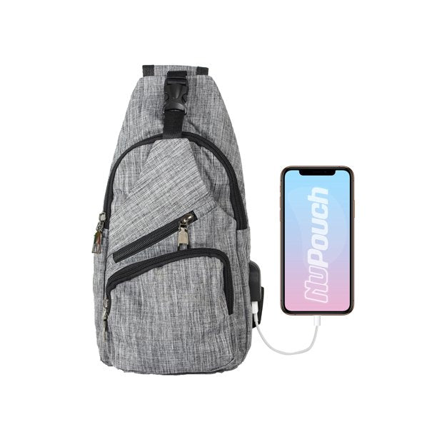 Antitheft Day Packs with Built in USB Charging Cable