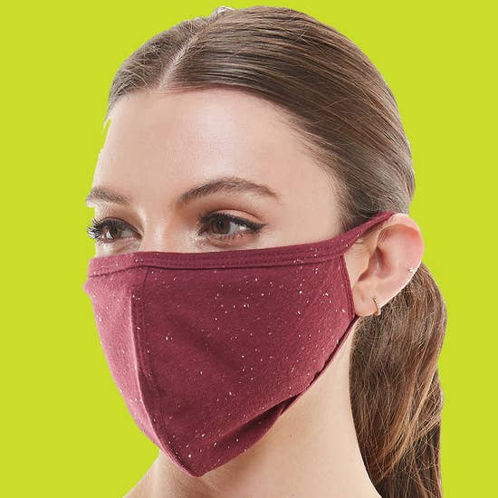 Face mask fashion mask washable reusable fabric face mask