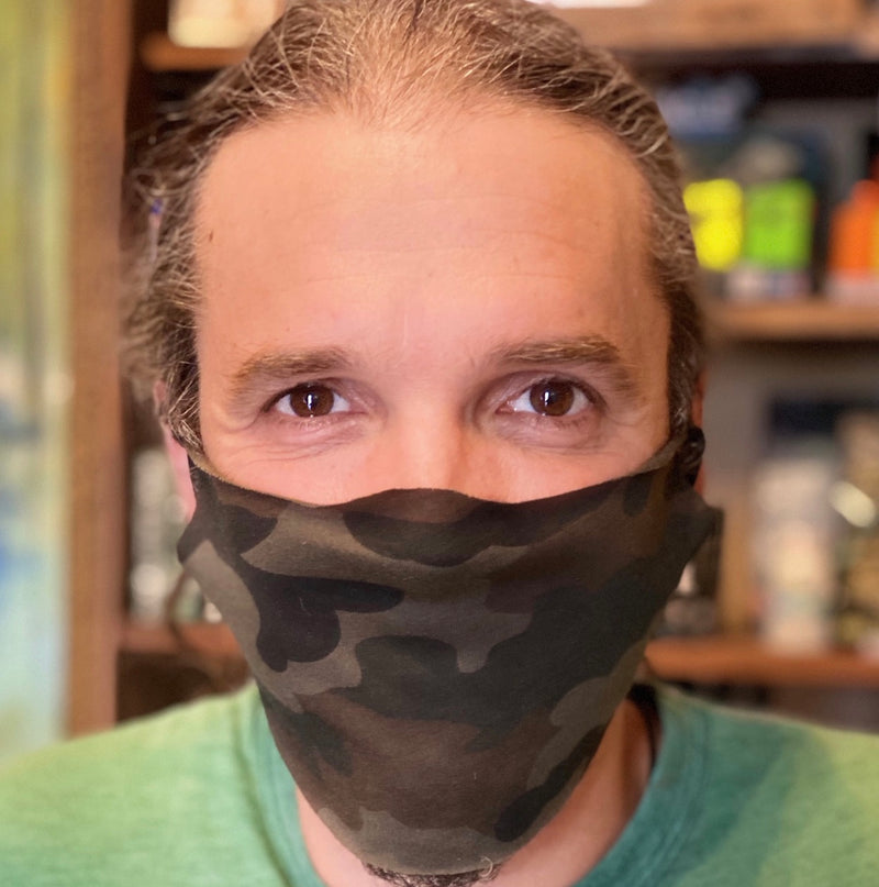 Eco Unisex Jersey Face Mask