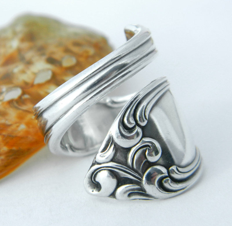 Salvage Spoon Rings