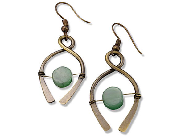 Anju Aventurine Earrings