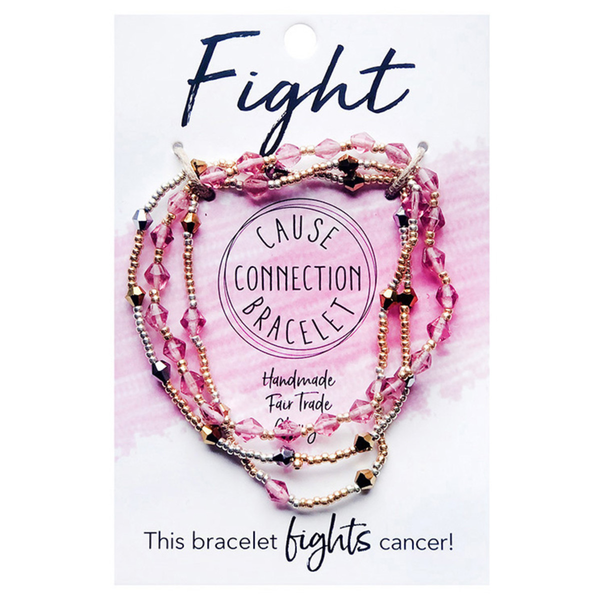 WorldFinds Cause Connection Bracelet Fight