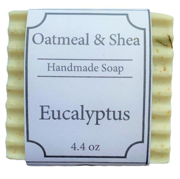 Brandon's Eucalyptus Soap (Locally Made)