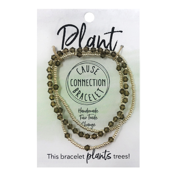 WorldFinds Cause Connection Bracelet Plant