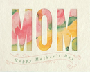 Good Paper Water Color Mothers Day Card