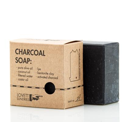 Lovett Sundries Charcoal Soap (Locally Made)
