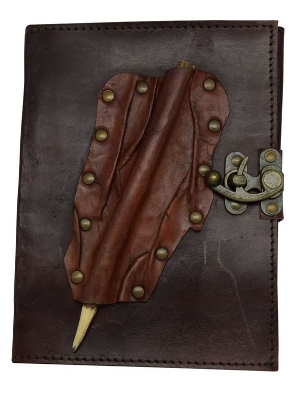 Fantasy Gifts Leather Journal With Pencil