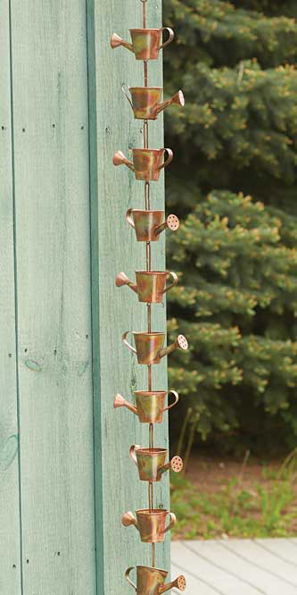 Watering Can Rain Chain