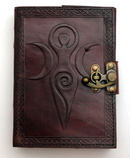 Fantasy Gifts Moon Goddess Leather Journal