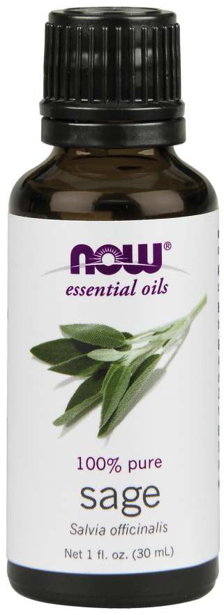 Now Essential Oils Sage Essential Oil