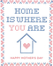 Good Paper Cross Stitch Mother's Day Card